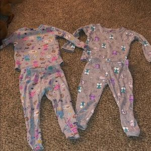 18 month girl pjs